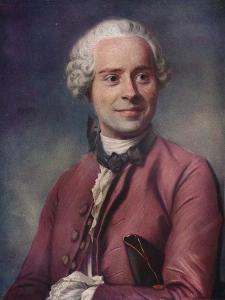'D'Alembert', 1753 by Maurice-Quentin de La Tour