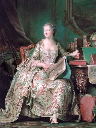 Full-Length Portrait of the Marquise De Pompadour (1721-176)