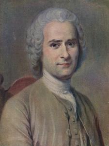 'Jean Jacques Rousseau', 1753 by Maurice-Quentin de La Tour
