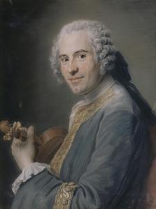 Jean-Joseph Cassanéa de Mondonville (1711-1772) by Maurice Quentin de La Tour