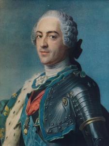 'Louis XV', 1748 by Maurice-Quentin de La Tour