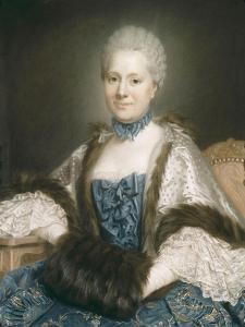 Madame de Rozeville by Maurice Quentin de La Tour