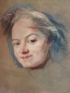 'Madame Favart, c1745 by Maurice-Quentin de La Tour