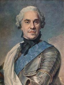 'Marechal de Saxe', c1748 by Maurice-Quentin de La Tour