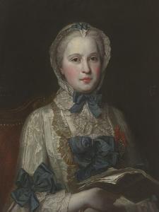 Marie Josèphe de Saxe (1731-1767), dauphine de France by Maurice Quentin de La Tour