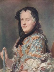 'Marie Leczinska', c1748 by Maurice-Quentin de La Tour