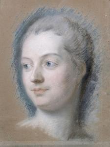 Marquise de Pompadour (1721-1764) by Maurice Quentin de La Tour