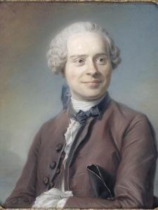 Portrait de Jean Le Rond d'Alembert (1717-1783), philosophe by Maurice Quentin de La Tour