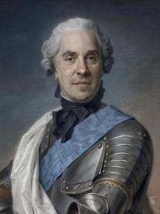 Portrait de Maurice comte de Saxe (1696-1750), maréchal de France by Maurice Quentin de La Tour