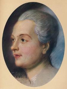 'Portrait of a Lady', c1751 by Maurice-Quentin de La Tour