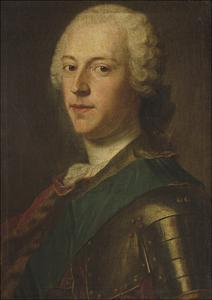 Portrait of Charles Edward Stuart, 'Bonnie Prince Charlie' by Maurice Quentin de La Tour