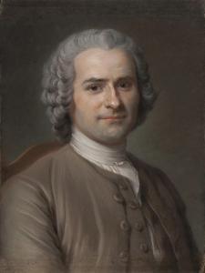 Portrait of Jean-Jacques Rousseau (1712-177) by Maurice Quentin de La Tour