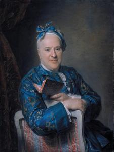 Portrait of Pierre-Louis Laideguive (1704-177) by Maurice Quentin de La Tour