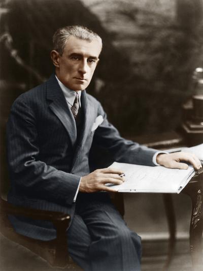 Maurice Ravel, C 1930--Photographic Print