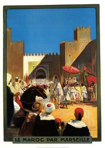 La Maroc Par Marseille by Maurice Romberg