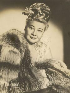 Sophie Tucker (Sophia Abuza) American Vaudeville Singer with Occasional Film Roles by Maurice Seymour