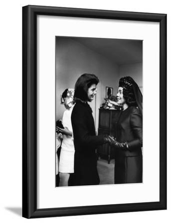 Coretta Scott King, Jacquelyn Kennedy, 1968