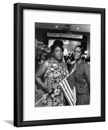 Fannie Lou Hammer and Ella Baker