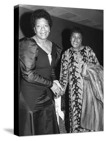 Maya Angelou, LaWanda Page 1988