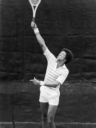 Tennis Pro Arthur Ashe, July 1975 by Maurice Sorrell