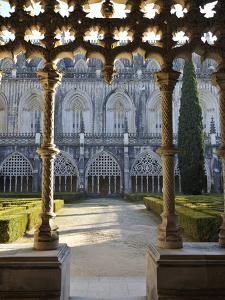 Cloisters of the Batalha Monastery, a UNESCO World Heritage Site, Portugal by Mauricio Abreu