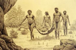 Homo Antecessor by Mauricio Anton