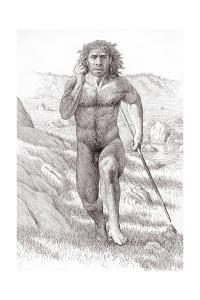 Neanderthal Man by Mauricio Anton