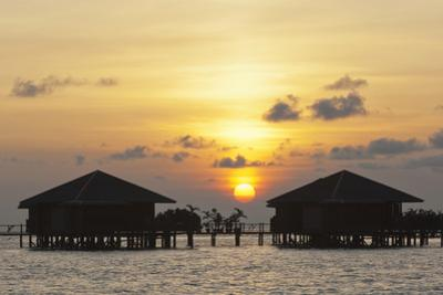 Reef Huts at Sipadan Water Village on Mabul Island, Sabah, Malaysia by Mauricio Handler