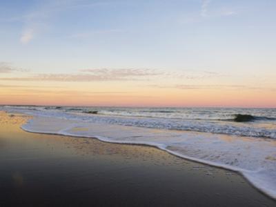 Surf at Sunset Off Fernandina Beach by Mauricio Handler
