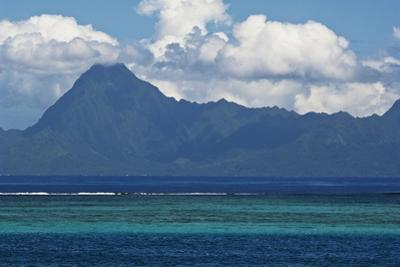 The Island of Mo'Orea as Seen from Outside the Coral Breakwater by Mauricio Handler