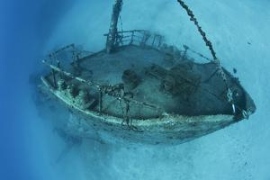 The Wreck of the Inganess Bay, in Wreck Alley Off Cooper Island, British Virgin Islands by Mauricio Handler