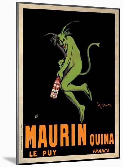 Maurin Quina, c.1906-Leonetto Cappiello-Mounted Giclee Print