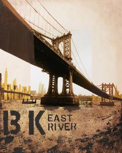 East River & Manhattan Bridge by Mauro Baiocco