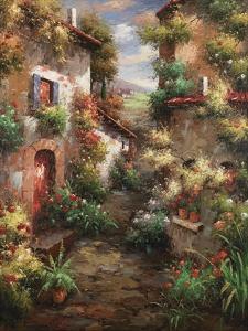 Courtyard Garden by Mauro