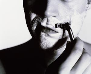 Man Shaving by Mauro Fermariello