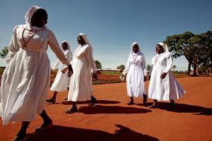 Ugandan Nuns by Mauro Fermariello