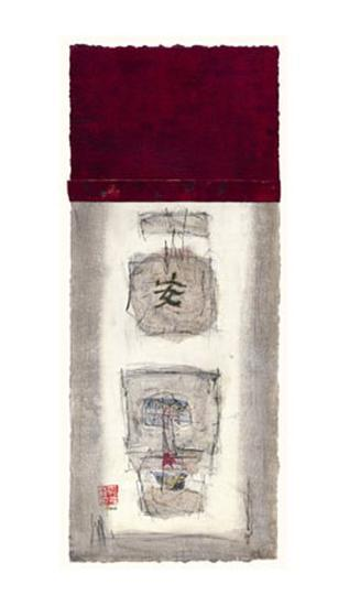 Mauro Tranquility Panel II-Mauro-Giclee Print