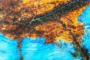 Blue and Brown Agate Pattern by maury75