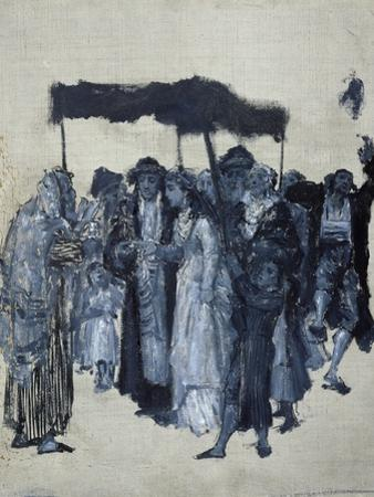 Jewish 'Huppa' (Wedding) 1876
