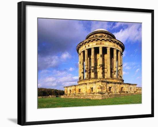 Mausoleum in the Grounds of Castle Howard-S. Vannini-Framed Photographic Print
