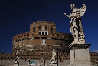 Mausoleum of Emperor Hadrian or Castle Sant'Angelo, Rome--Photographic Print