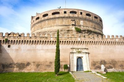 Mausoleum of Hadrian (Castel Sant'Angelo), UNESCO World Heritage Site, Rome, Lazio, Italy, Europe-Nico Tondini-Photographic Print