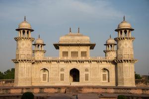 Mausoleum of Itimad-Ud-Daulah (also called Baby Taj), Agra, Uttar Pradesh, India