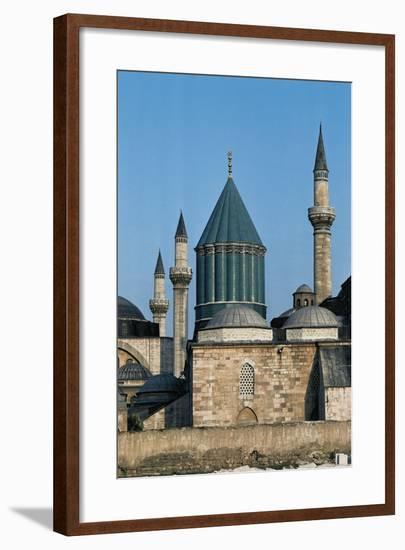 Mausoleum of Jalal Ad-Din Muhammad Rumi (Mevlana Museum)--Framed Photographic Print