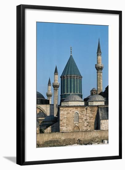 Mausoleum of Jalal Ad-Din Muhammad Rumi (Mevlana Museum)--Framed Photographic Print