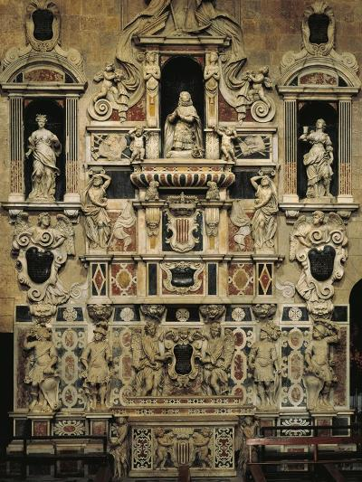 Mausoleum of Martin Younger, 1676-1680-Giulio Aprile-Giclee Print