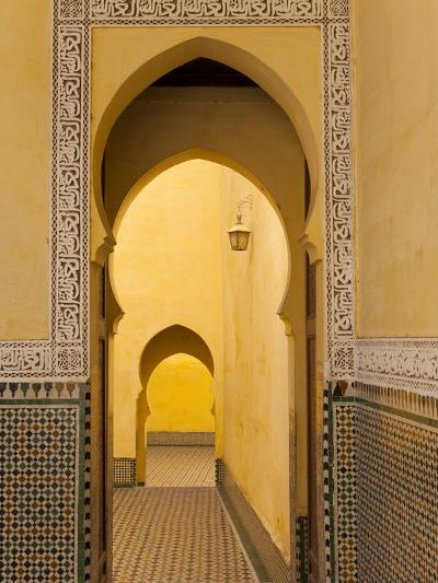 Mausoleum of Moulay Ismail, Meknes, Morocco, North Africa, Africa-Marco Cristofori-Photographic Print