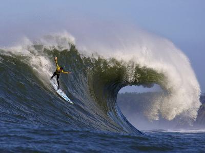Mavericks Surf Competition 2010, Half Moon Bay, California, Usa-Rebecca Jackrel-Photographic Print