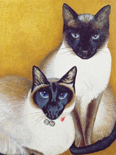 Mavis and Barnaby-Pat Scott-Giclee Print