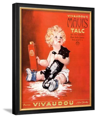 Mavis Talc Cats Talcum Powder, USA, 1920--Framed Art Print